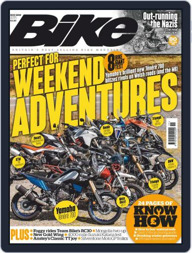 BIKE United Kingdom (Digital) November 1st, 2019 Issue Cover