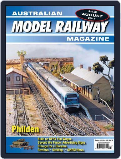 Australian Model Railway (Digital) August 1st, 2018 Issue Cover