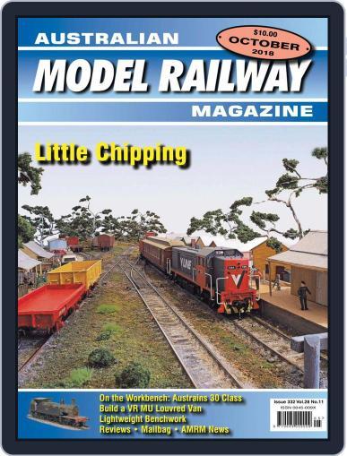 Australian Model Railway (Digital) October 1st, 2018 Issue Cover