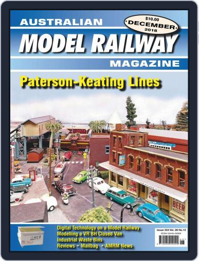 Australian Model Railway (Digital) December 1st, 2018 Issue Cover