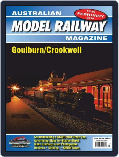 Australian Model Railway (Digital) February 1st, 2019 Issue Cover