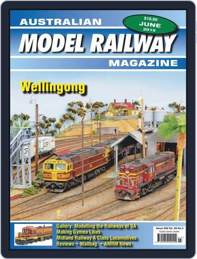 Australian Model Railway (Digital) June 1st, 2019 Issue Cover