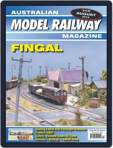 Australian Model Railway (Digital) August 1st, 2019 Issue Cover