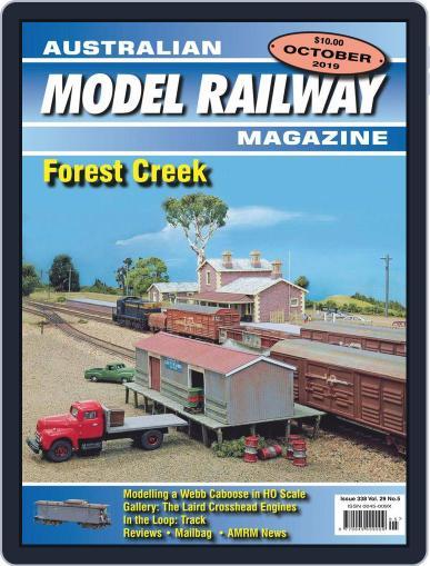 Australian Model Railway (Digital) September 1st, 2019 Issue Cover