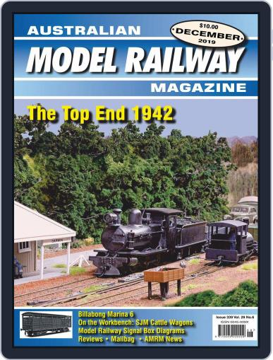 Australian Model Railway (Digital) December 1st, 2019 Issue Cover