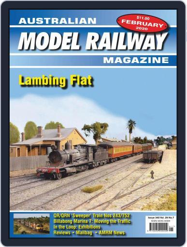 Australian Model Railway (Digital) February 1st, 2020 Issue Cover