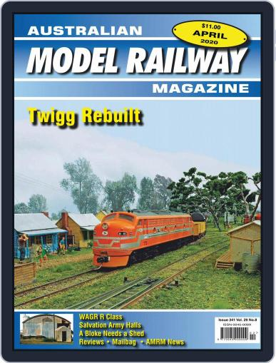 Australian Model Railway (Digital) April 1st, 2020 Issue Cover