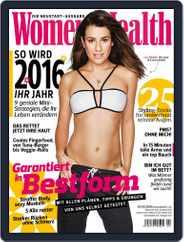 Women's Health Deutschland (Digital) Subscription January 1st, 2016 Issue