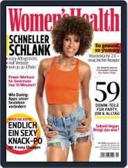 Women's Health Deutschland (Digital) Subscription August 7th, 2016 Issue