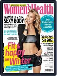 Women's Health Deutschland (Digital) Subscription January 1st, 2017 Issue