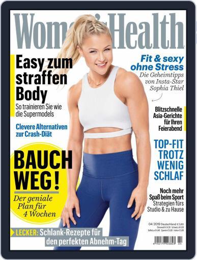 Women's Health Deutschland (Digital) April 1st, 2019 Issue Cover