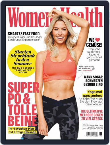Women's Health Deutschland (Digital) June 1st, 2019 Issue Cover
