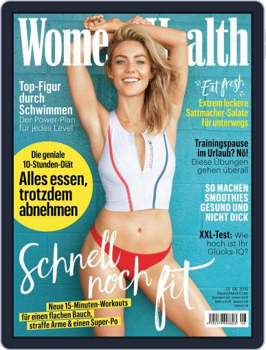 Women's Health Deutschland (Digital) July 1st, 2019 Issue Cover