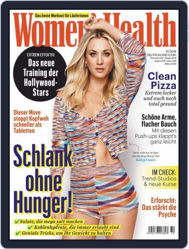 Women's Health Deutschland (Digital) October 1st, 2019 Issue Cover