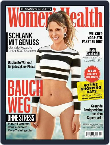 Women's Health Deutschland (Digital) May 1st, 2020 Issue Cover