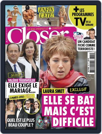 Closer France (Digital) May 18th, 2012 Issue Cover
