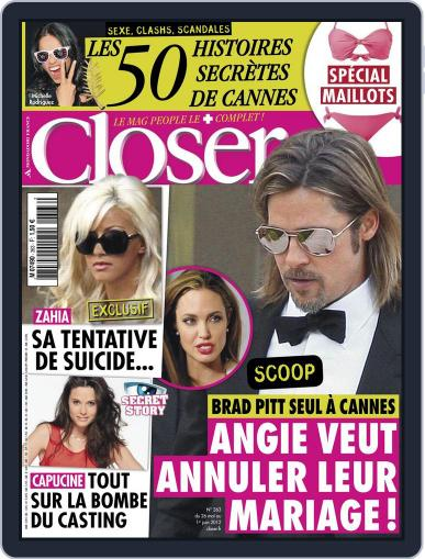 Closer France (Digital) May 25th, 2012 Issue Cover