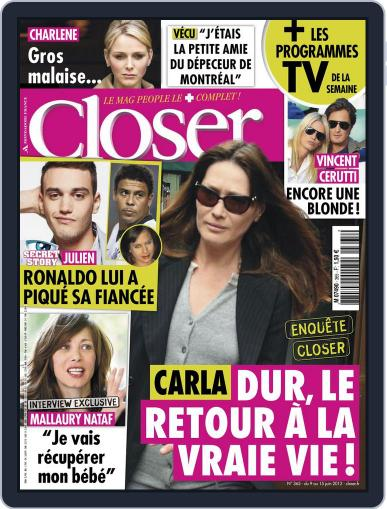 Closer France (Digital) June 8th, 2012 Issue Cover
