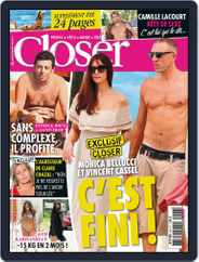 Closer France (Digital) Subscription August 23rd, 2013 Issue