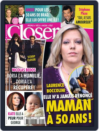 Closer France (Digital) November 29th, 2013 Issue Cover