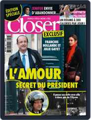 Closer France (Digital) Subscription January 10th, 2014 Issue