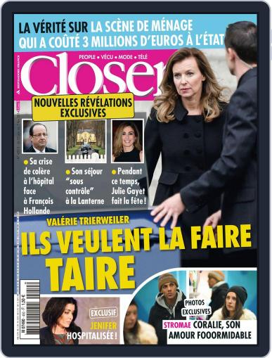 Closer France (Digital) January 25th, 2014 Issue Cover