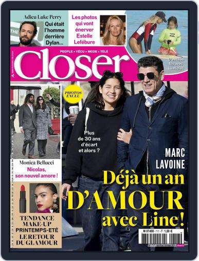 Closer France (Digital) March 8th, 2019 Issue Cover
