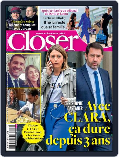 Closer France (Digital) March 22nd, 2019 Issue Cover