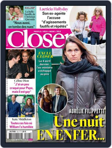 Closer France (Digital) April 12th, 2019 Issue Cover