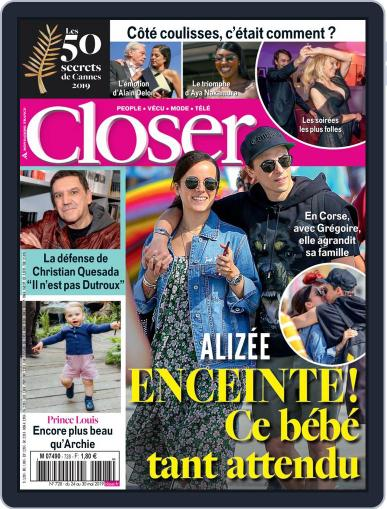 Closer France (Digital) May 24th, 2019 Issue Cover