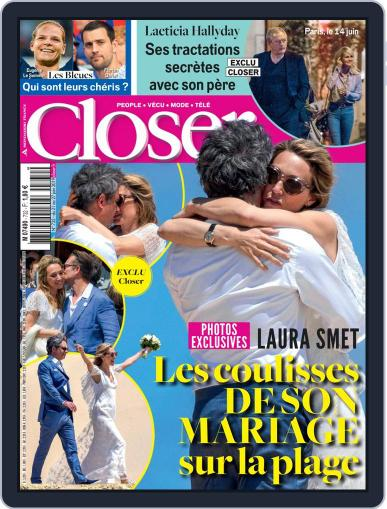 Closer France (Digital) June 21st, 2019 Issue Cover