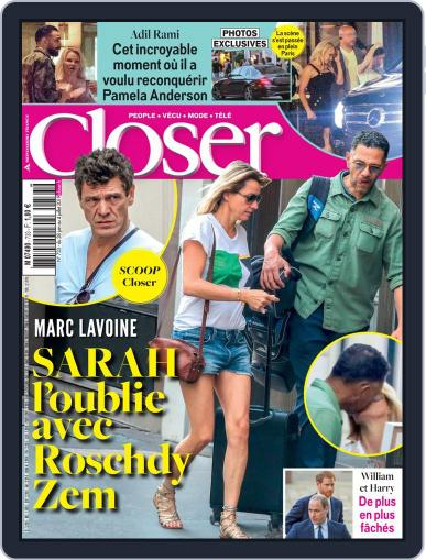Closer France (Digital) June 28th, 2019 Issue Cover