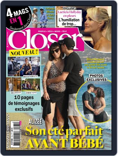 Closer France (Digital) July 12th, 2019 Issue Cover