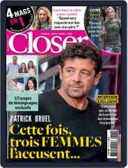 Closer France (Digital) Subscription September 27th, 2019 Issue
