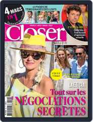 Closer France (Digital) Subscription October 18th, 2019 Issue