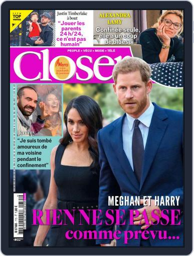 Closer France April 17th, 2020 Digital Back Issue Cover
