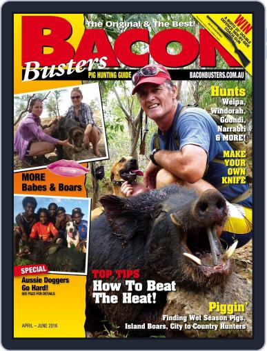 Bacon Busters (Digital) April 1st, 2016 Issue Cover