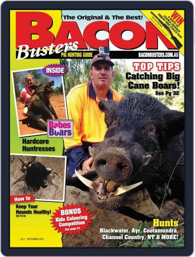 Bacon Busters (Digital) June 15th, 2016 Issue Cover