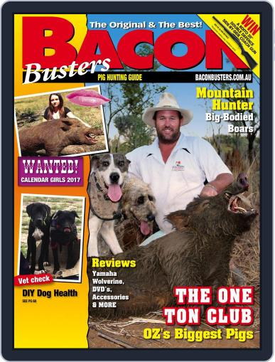 Bacon Busters (Digital) October 1st, 2016 Issue Cover