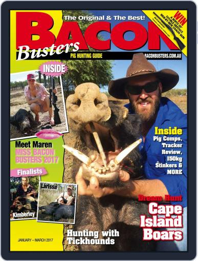 Bacon Busters (Digital) January 1st, 2017 Issue Cover