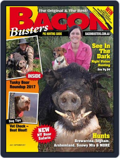 Bacon Busters (Digital) July 1st, 2017 Issue Cover