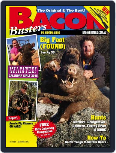 Bacon Busters (Digital) October 1st, 2017 Issue Cover