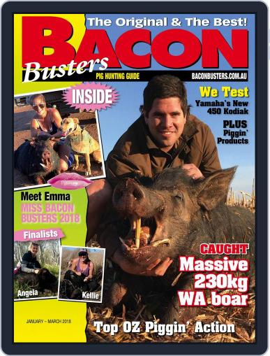Bacon Busters (Digital) January 1st, 2018 Issue Cover