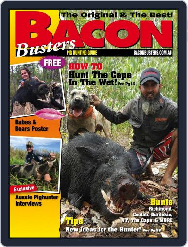 Bacon Busters (Digital) April 1st, 2018 Issue Cover