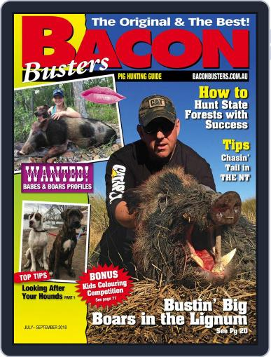 Bacon Busters (Digital) July 1st, 2018 Issue Cover