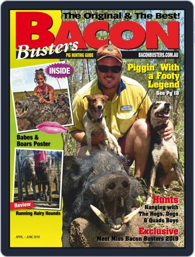 Bacon Busters (Digital) April 1st, 2019 Issue Cover
