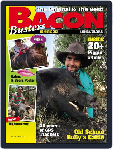Bacon Busters (Digital) July 1st, 2019 Issue Cover