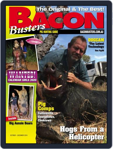 Bacon Busters (Digital) October 1st, 2019 Issue Cover