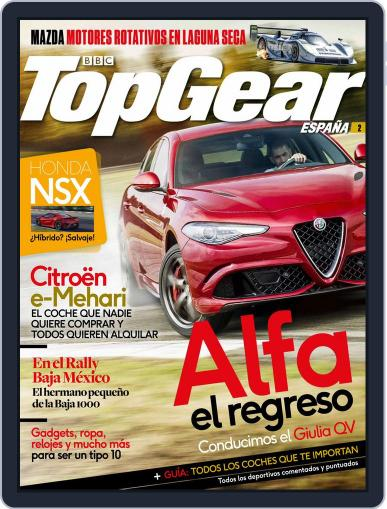 Top Gear España (Digital) July 1st, 2016 Issue Cover