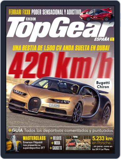 Top Gear España (Digital) May 1st, 2017 Issue Cover